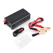 1000W DC to AC Power Converter DC12V to AC220V Car Inverter Aluminum Alloy Transformer Inverter Portable Travel Converter(China)