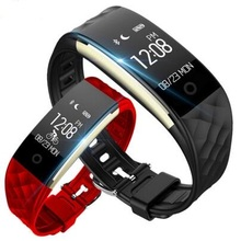 NEW Smart Band S2 Smart Wristband Heart Rate Fitness Bracelet Mp3 player Call SMS Facebook Twitter Smart Bracelet PK mi band 2(China)