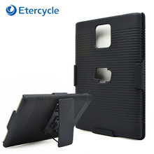 for BlackBerry Passport Q30 Case Black Protective Belt Clip Armor Swivel Kickstand Holster Combo Cover Cases(China)