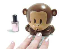 Monkey Hand Nail Art Tips quick blow Polish Dryer Blower Manicure Care