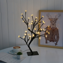 Fashion creative cherry lamp home bedroom decorative lights LED bedside lamp children gifts illumination night light(China)