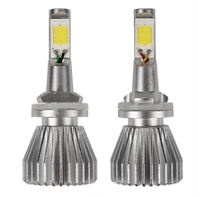 1 Pair C6 series 880 881 LED Car Headlight Headlamp 4400LM 12V COB Conversion Light All In One High Quality Head Lights Lamps