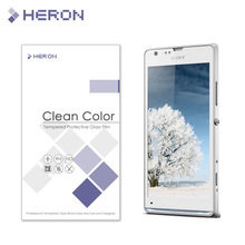 0.3mm Tempered Glass for Sony Xperia SP M35H Arc Edge 2.5D High Transparent Screen Front Protector with Retail Package