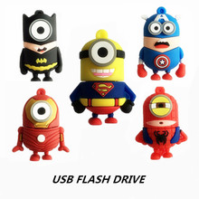 usb flash drive pen drive 64GB 32GB 16GB 8GB 4GB The pendrive USB 2.0 cute cartoon Despicable Me memory U Disk