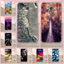 for Samsung Galaxy J7 2015 Phone Casea Back Cover 3D Cartoon for Coque Samsung Galaxy J7 2015 J700F J700H Mobile Phone Case(China)