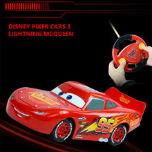 2017 New Disney Pixar Kids RC cars Mcqueen Jackson Cruz cars 3 Xmas Gifts Toys for Boys Children Remote Controller No Box