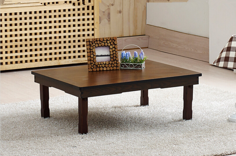 Korean RectangleTable 80*60cm Folding Legs Home Furniture Living Room Antique Table for Dining Traditional  Korean Folding Table<br><br>Aliexpress