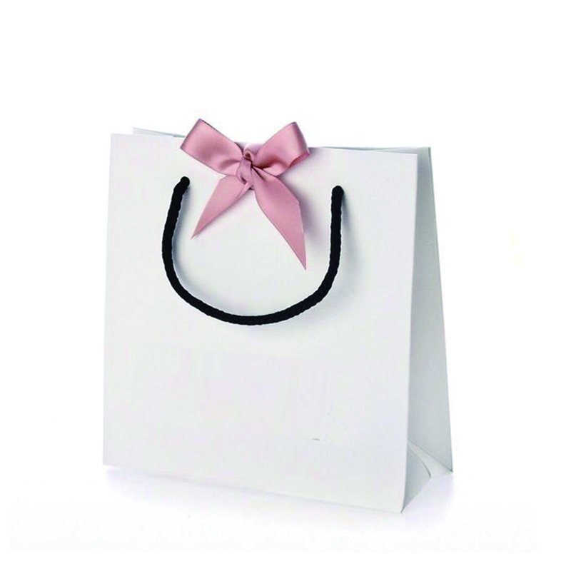 ribbon bow paper bag
