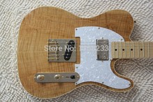 . wholesale new style telecaster guitar Ameican standard tele electric guitar with Golden yellow Golden accessories(China)