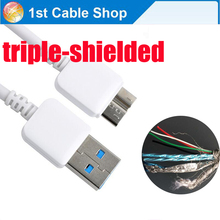 Genuine 10-pin Micro-B USB 3.0 cable cord for WD for Hitachi for Toshiba for Seagate external hard drive