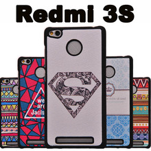 Xiaomi Redmi 3s phone case plastic Black PC Cartoon case for Xiaomi Redmi 3 s case cover New wave Xiomi Redmi 3s 3 s case cover