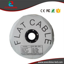 75M/Roll LED Dispaly Data Cable Pure Copper Flat Cable(China)