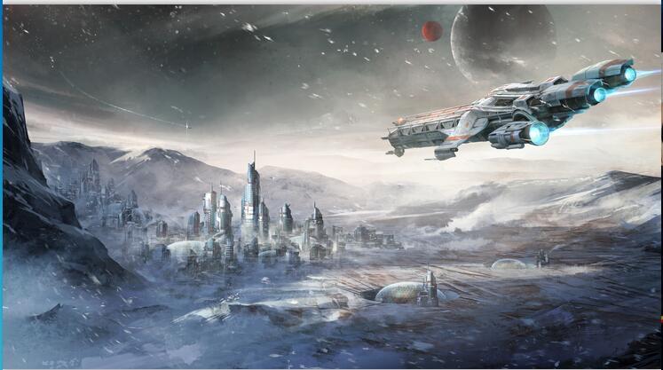 HTB1 3TjgRnTBKNjSZPfq6zf1XXak - Stars War Spaceship 3D Cartoon Wallpaper Mural for Kids Room-Free Shipping