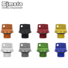 Universal Moto M20*2.5 motorcross Z1000SX Engine Oil Plug Filler Cover Screw for Kawasaki Z650 Z800 Z900 Ninja 250 SL(China)