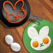 High Quality Rabbit Silicone Egg Mold Ring Cooking Tools Fried Egg Kitchen Gadgets Cheapest Price Free Shipping(China)