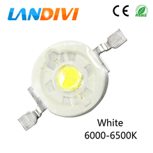 10PCS 3w led diode white 6000k 6500k High power chip Epistar emitting diodes for DIY bulb lamps wholesale led light(China)
