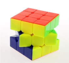 3x3x3 5.7cm Rubik Magic Cube Puzzle Cubes Speed Cubo Square Puzzle No Sticker Educational Toys for Children Gifts