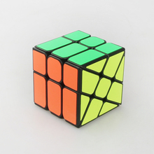 YongJun YJ Strange-shape Magico Cubo Black & White ABS Plastic Puzzle Speed Cube Hot Wheel Abnormity Cube Kids Educational Toys(China)
