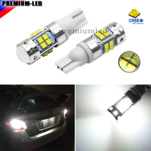 2pcs High Power Extreme Bright 20- SMD T10 T15 LED Bulbs For Car Parking Backup Reverse Lights 194 920 912 921 T10,White Color
