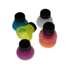 Useful Retail 6Pcs /1 Set Tops Snap On Pop Soda Can Creative Bottle Caps Especially Reusable Practical Cool Retail