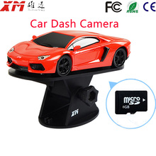 Mini Car Camera DVR Lanbo Type Wireless Surveillance Camera Wide View Angle Wifi Security Camara Mobile Phone View Camcorder(China)