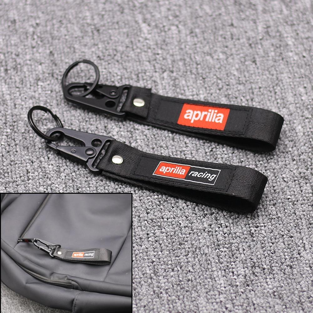 Honda Belt Keychian Tag Racing Biker Motorcycle Embroidered Key Holder Strap