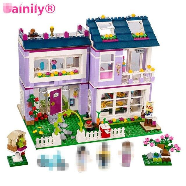 [Bainily]731pcs Friends Series Emmas House Building Blocks Classic For Girl Kids Model Toys<br>