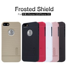 Case for Apple iPhone 5 5S SE Original NILLKIN Frosted Shield Cover + Screen Film + Registered Air Mail