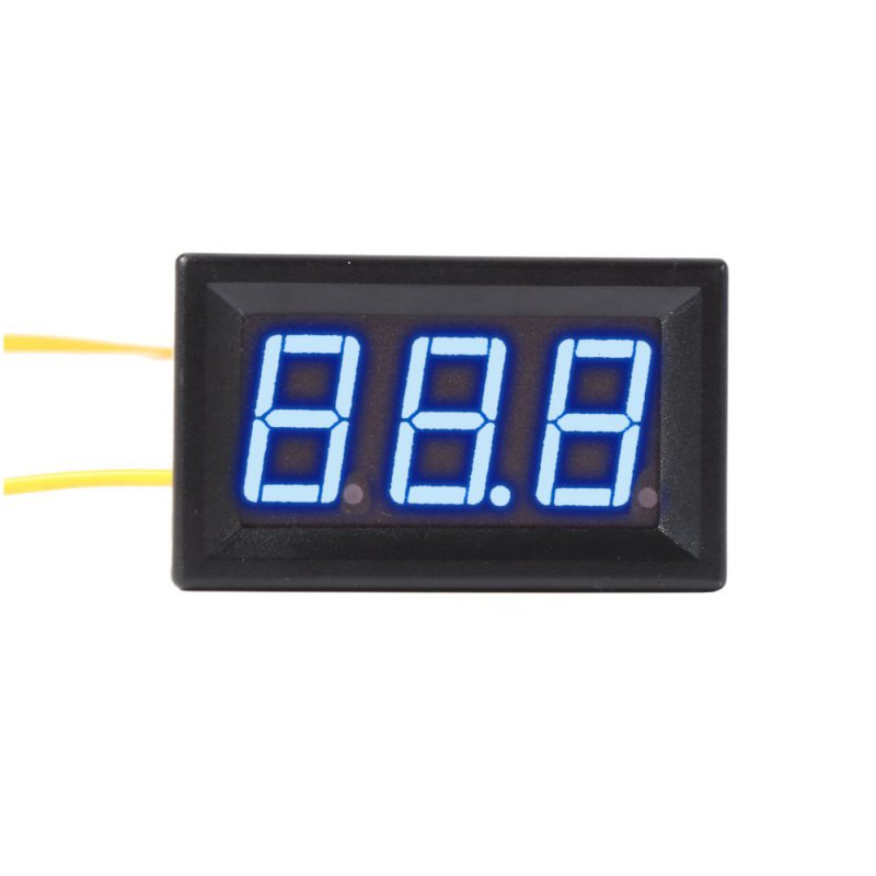 Colorful 0.56 inch AC 70-380V Digital Voltmeter Tester LED Volt Voltage Panel 2 Wires Meter For Home Use