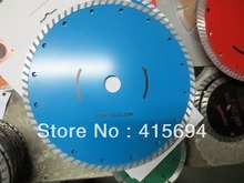 230x7x22.23-15.88mm cold press turbo diamond  saw blade for bricks, granite,marble and concrete.With frange