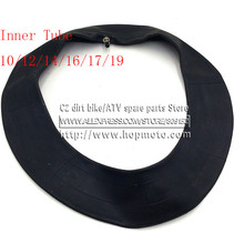 Inner tube 10 12 14 17 19 for dirt pit bike Tyres Outer tire 14inch 17inch 19inch Wheels off road motorcycle 2.50 3.00 2.75(China)