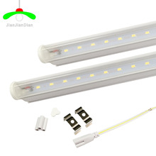 LED Tube T5 Light 110V 220V 30cm 6w 60cm 10w LED Fluorescent Tube T5 Wall Lamps warm/white  T5 Bulb Light  clear /milky cover