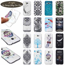 PainTed PaTTeRn SiLiCone SoFt Case Cover For Samsung Galaxy Core Prime Galaxy Win 2 G3608 Phone Cases WaVy AnTi SLip DeSiGn CeLL(China)