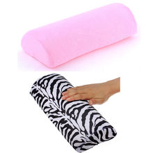 New Arrival Nail Art Hand Holder Soft Cushion Pillow Nail Arm Rest Manicure Tool 2 Colors(China)