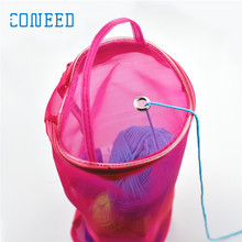 New Mesh WoolStorage Bag for Wool Lightweight Portable Yarn Crochet Thread Storage Organizer Tote u70814 RU/ES