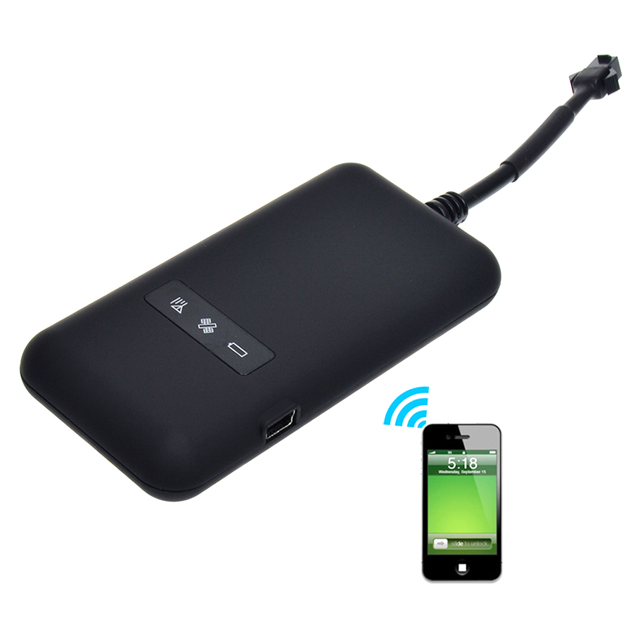 Hot sale realtime car motorcycle gsm gprs gps tracker quad band tracking device tk110 gps