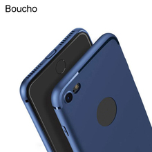 Buy Boucho Luxury Slim Silicone Case iphone 5s 5 SE 6 6s 7 8 plus 6plus Back Cover Soft TPU Phone Cases iPhone X 7plus Case for $1.38 in AliExpress store