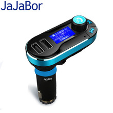 JaJaBor Bluetooth Handsfree Car Kit FM Transmitter Receiver MP3 Player Dual USB Car Charger Support USB/SD/AUX-IN With Remote
