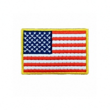 USA Flag Patch Harley Rider Biker Vest New Jacket DIY Parts Loco Motive Embroidery In Applique Iron On Skulls Patches
