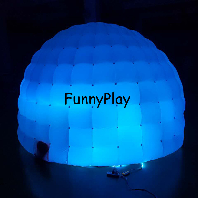 Inflatable Luna tent1