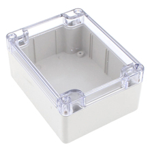 1pc Waterproof Plastic Enclosure Box Clear Cover Electronic Project Instrument Case 115mmx90mmx55mm(China)