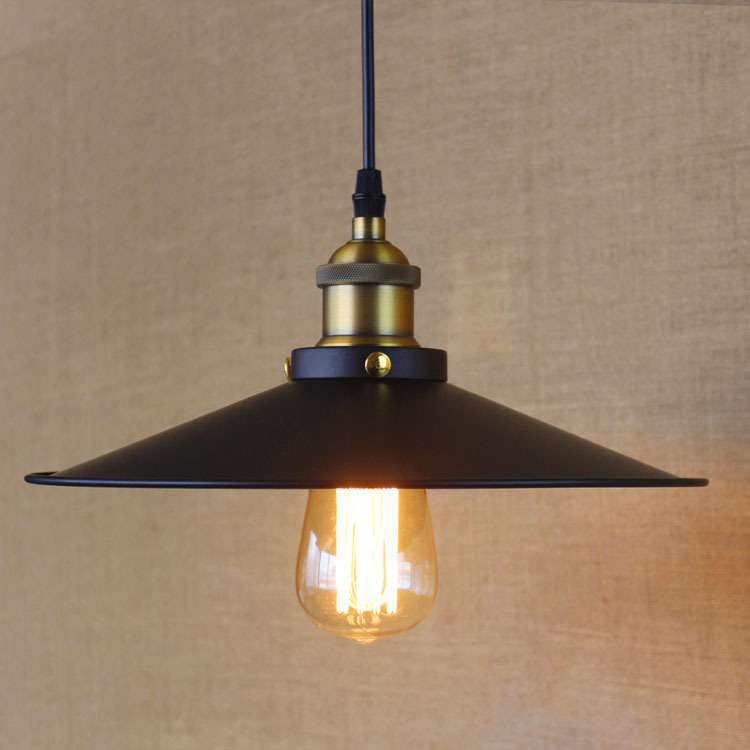 IWHD Lamparas Loft Industrial Pendant Light Fixtures LED Hanging Lamp Black American Style Iron Retro Hanglamp Home Lighting <br>