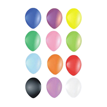100pcs 10 Inch Assorted Bright Color Latex Balloons Wedding Party Birthday Heart Pattern Mixed Color Balloon (Random Color)(China)