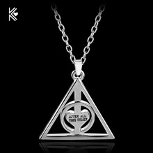 Hot Movie After all this Time?Always.Necklace Rotate Deathly Hallows Pendant Friendship Valentine Gift Best Friend Necklace
