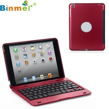 Binmer Mecall Tech Slim Wireless Bluetooth 3.0 Keyboard Stand Case Cover For Apple For iPad Mini
