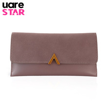 Buy Women's Purse Wallets High PU Leather Lady Clutch Purse Brand Design Long Girl's Wallet Card Holder for $3.92 in AliExpress store
