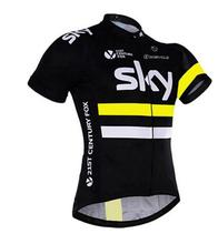 2017 Sky Cycling Team  Cycling jersey Bicycle wear Clothing men's maillot ropa  ciclismo mtb quick dry bike Bicycle clothing