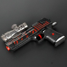 Free Shipping Electric Desert Eagle Water Paintball Nerf Gun Powerful Air Soft Bullet Airgun Water Crystal Bullet Toys for Gifts