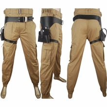 Rogue One: A Star Wars Story Captain Cassian Andor holster pants unique halloween costume sci-fi outfit x'mas gift film costume(China)