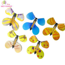 Free shipping 30pcs magic butterfly flying butterfly change with empty hands freedom butterfly magic props magic tricks